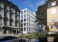 Visualization of the new building PLR at Plattenstrasse